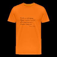 Der Kategorische Imperativ   Männer Premium T Shirt