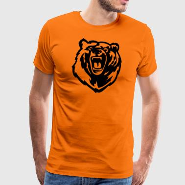 Grizzly Bear - Herre premium T-shirt