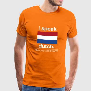 SUPERPOWER dutch - Männer Premium T-Shirt