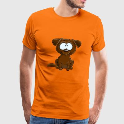 Chocolate Labrador - Men's Premium T-Shirt