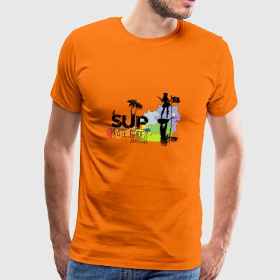 SUP Pirate Brides black - Männer Premium T-Shirt