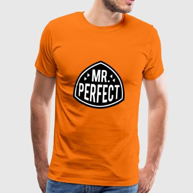 Mr Perfect - Mannen Premium T-shirt