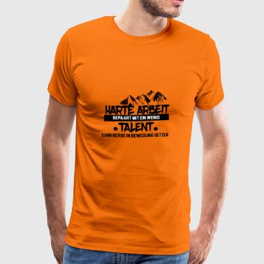 Succes Vellykket motiverende Motivation gave - Herre premium T-shirt