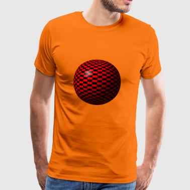 Red round cartoon - Men's Premium T-Shirt
