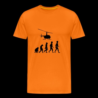 plane fliers fly evolution pilots cockpit - Men's Premium T-Shirt
