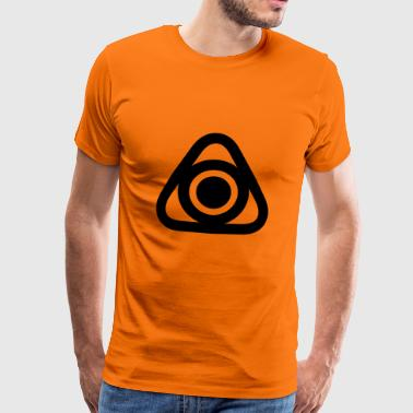 TRIANGLES DREIECKE CLEAN - Männer Premium T-Shirt