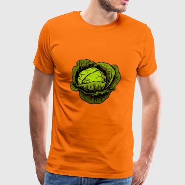 Cabbage, cabbage, vegetables - Men's Premium T-Shirt