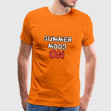 SUMMER MOOD ON - Men's Premium T-Shirt