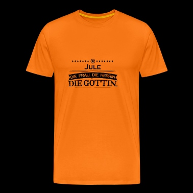 birthday goettin jule - Men's Premium T-Shirt