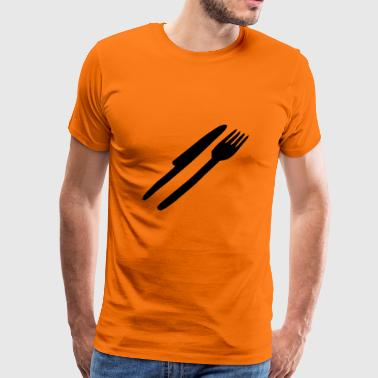 cutlery - Men's Premium T-Shirt
