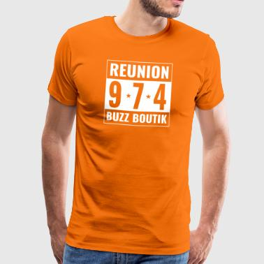 Collection Reunion Buzz Boutik 974 - Men's Premium T-Shirt