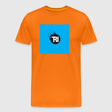 TRIathlon cyan - Men's Premium T-Shirt