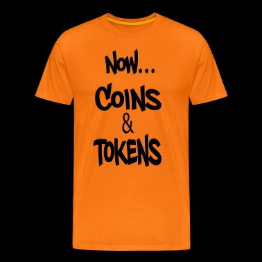 Now Coins and Tokens - Men's Premium T-Shirt