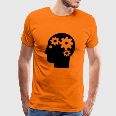 The cogs of the brain - Men's Premium T-Shirt