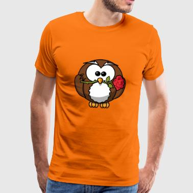 CHARMING BIRD - Men's Premium T-Shirt