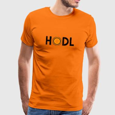 Bitcoin cryptocurrency vintage tshirt - Men's Premium T-Shirt