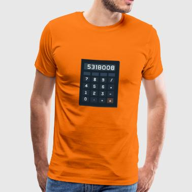 calculateur de IDIOTS - T-shirt Premium Homme
