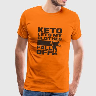 Gå ner i vikt Fitness Health Weight Gift - Premium-T-shirt herr
