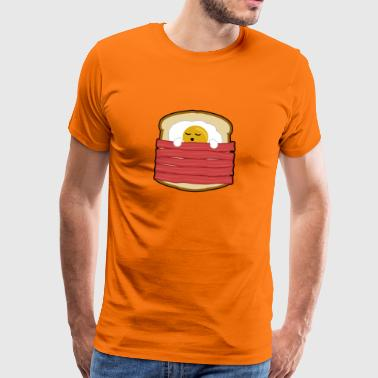 EGG, SPECK TOAST - Men's Premium T-Shirt