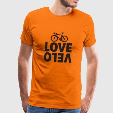 Cycling love velo - Men's Premium T-Shirt