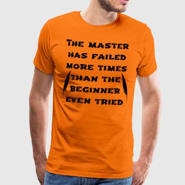 Master black - Men's Premium T-Shirt