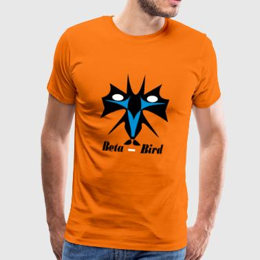 Beta-Bird / no Flamingo / M7b4 / tri-color - Mannen Premium T-shirt