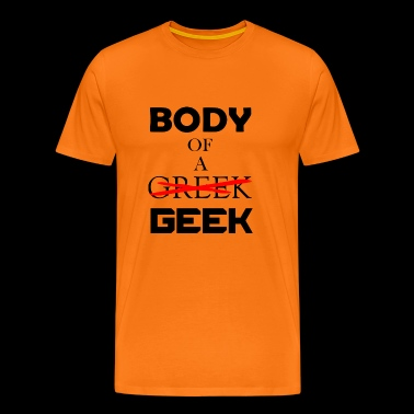 body of a greek - Men's Premium T-Shirt
