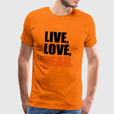 2541614 14405850 read - Men's Premium T-Shirt