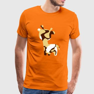 CARTOOM - COW - CAMO / CAMOUFLAGE - Männer Premium T-Shirt