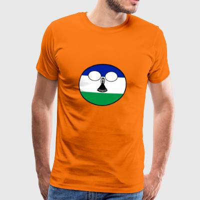 ball Pays Accueil Lesotho - T-shirt Premium Homme