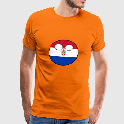 Countryball Country Home Paraguay - Men's Premium T-Shirt