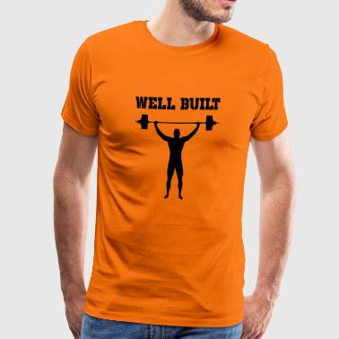 well built - Men's Premium T-Shirt