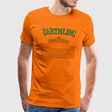 EARTHLINGS - Design by PAN at Sweprints - Men's Premium T-Shirt