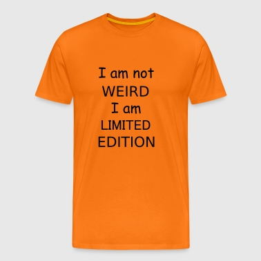 weird - Men's Premium T-Shirt