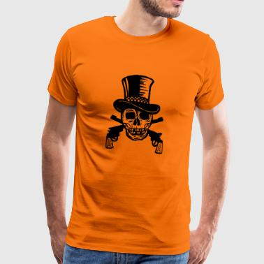 pirate ship boat pirate pirate ship ship skull1 - Men's Premium T-Shirt