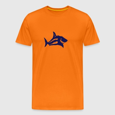 requin tete animal 7092 - T-shirt Premium Homme