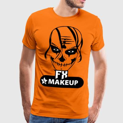 makeupfx blak - Premium T-skjorte for menn