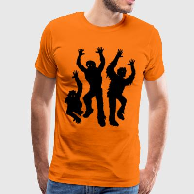 The zombies - Men's Premium T-Shirt