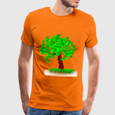 A tree in the wind - Men's Premium T-Shirt