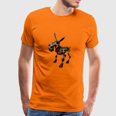 Hell's Donkey - Donkey from hell - Men's Premium T-Shirt