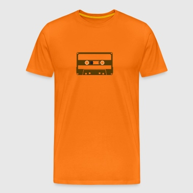 CASSETTE BROWN - Men's Premium T-Shirt