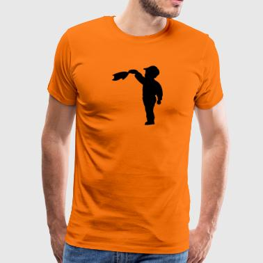 waving - Men's Premium T-Shirt