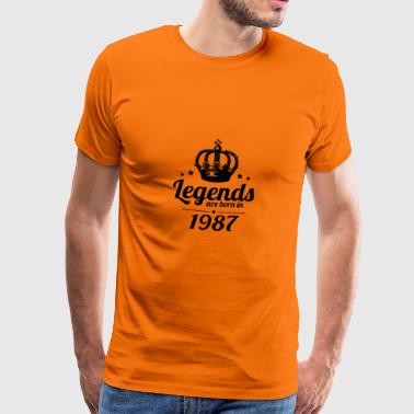 Legends 1987 - Men's Premium T-Shirt