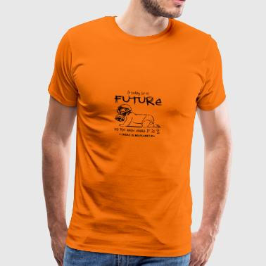 BABY - NO FUTURE - NEJ PLANET B - Premium-T-shirt herr