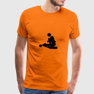 Sex positioner - Premium-T-shirt herr
