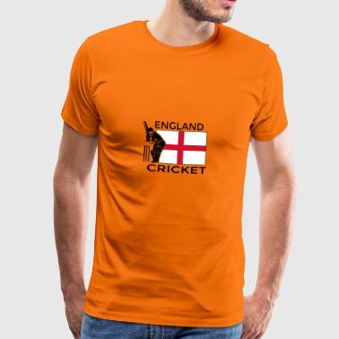 Cricket England - Premium T-skjorte for menn