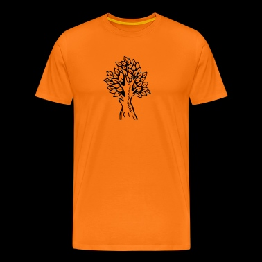 Tree silhouette - Men's Premium T-Shirt