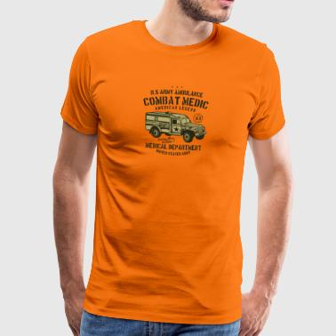 Ambulance2 US Army - Mannen Premium T-shirt