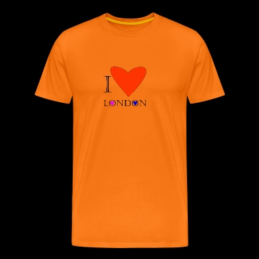 I Love London 1A - T-shirt Premium Homme