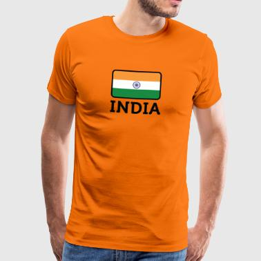 National Flag Of India - Men's Premium T-Shirt